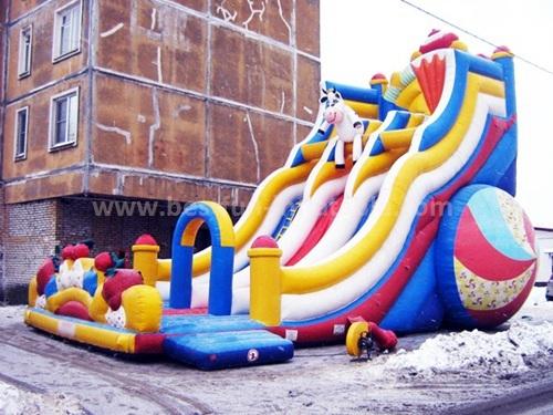 Adult PVC inflatable rental slide