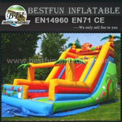 Alibaba fun inflatable slide