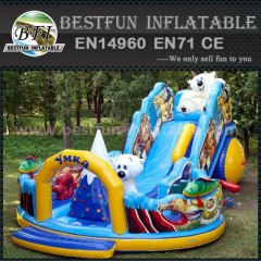 Amusement huge inflatable slide