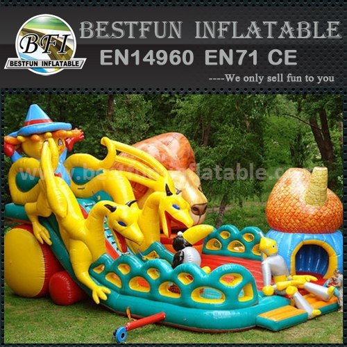 Best commercial inflatable slide