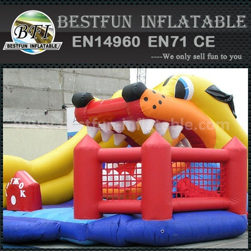 Best price inflatable big slide