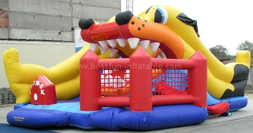 Best material inflatable slide
