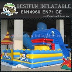 Cheap commercial giant inflatable slide