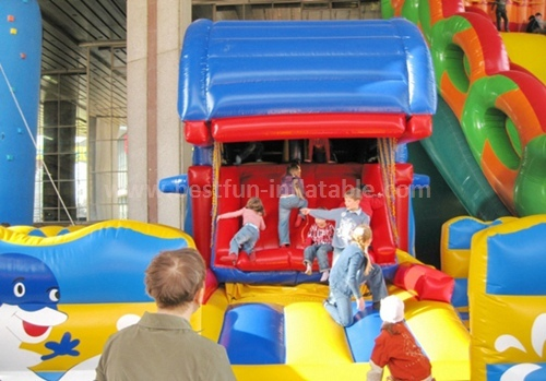 Bouncy castles inflatable slide