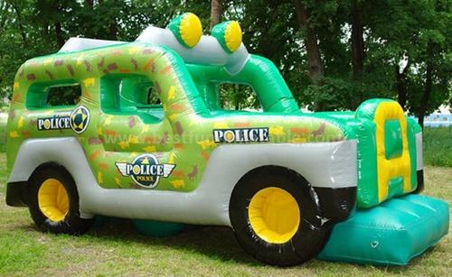 Car design inflatable slide