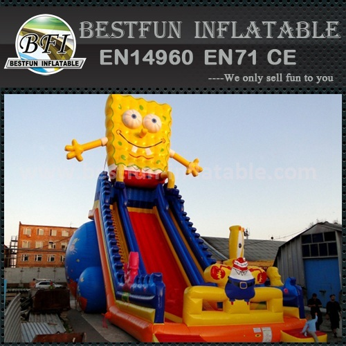 Big kahuna inflatable slide
