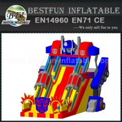 Inflatable big slides for sale