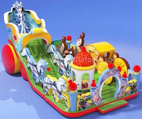 CE custom slip n slide inflatable