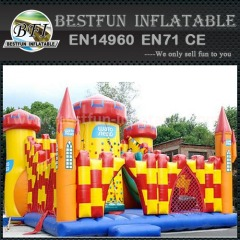 Cheaper inflatable super slide