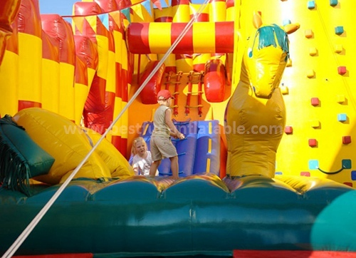 Cheap slip n slide inflatable games