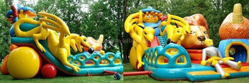 Children commercial inflatable slide