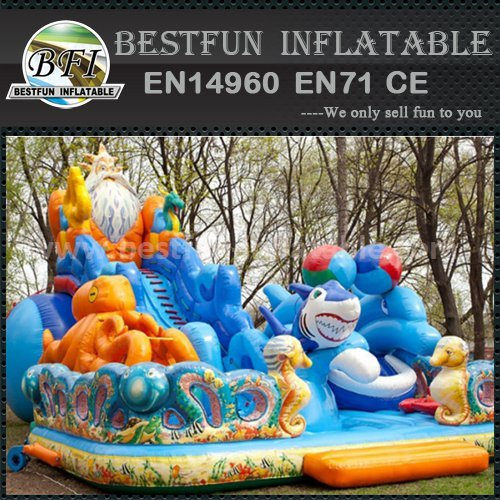 China inflatable slides for kid