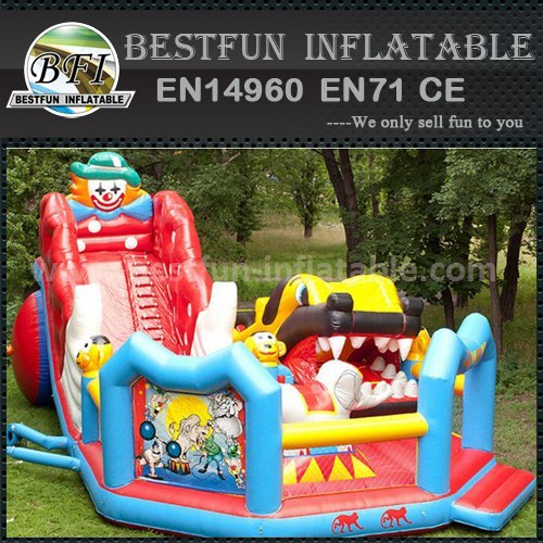 China manufacturer inflatable slides