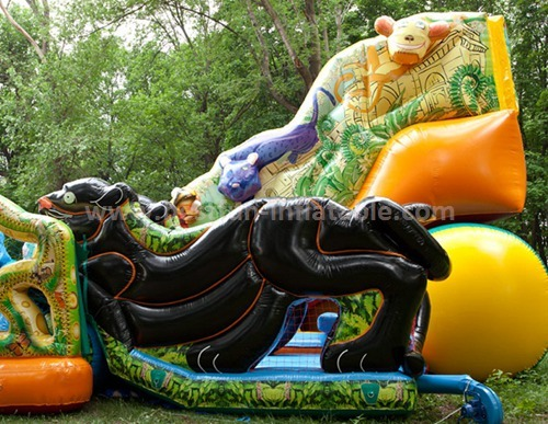Commercial bouncer inflatables with slide