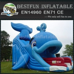 Popular inflatable cartoon slide