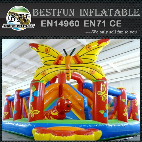 Cheap colored inflatable slides