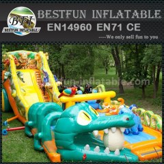 Commercial used grade inflatable slide