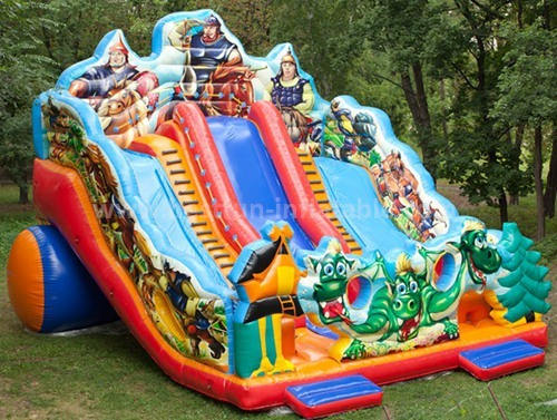 EN71 custom slip n slide inflatable