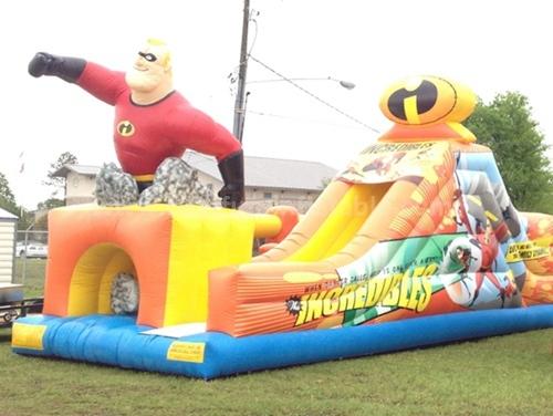 EN71 inflatable body slide equipment