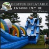 Endless fun inflatable slide