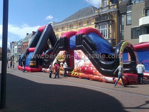 Factory price slide combo inflatables