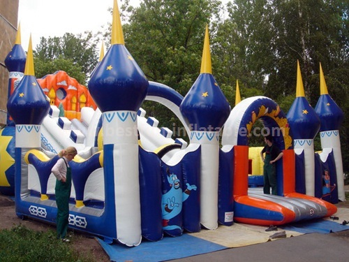 Fun inflatable slide for kids