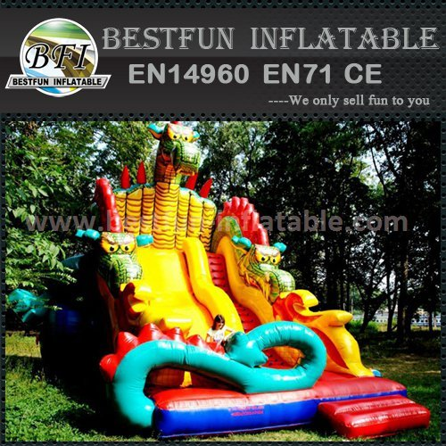 Exciting inflatable slides for sale