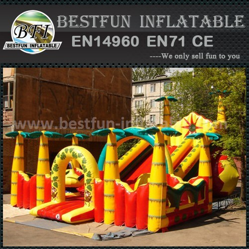 Giant kids inflatable slide