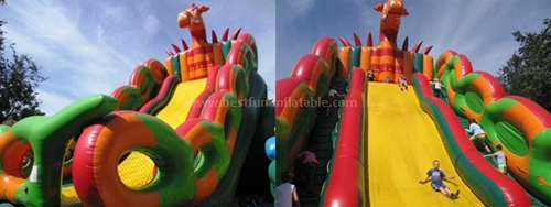 High quality design inflatable slide