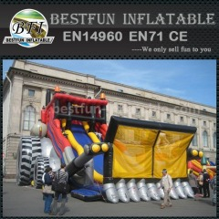 Hot commercial inflatable slide