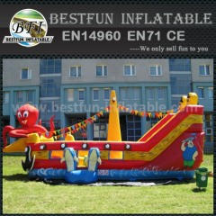 Commercial inflatable slides octopus
