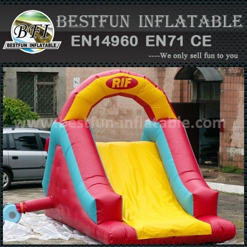 Happy inflatable slide for children