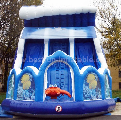Inflatable adult slide for sale