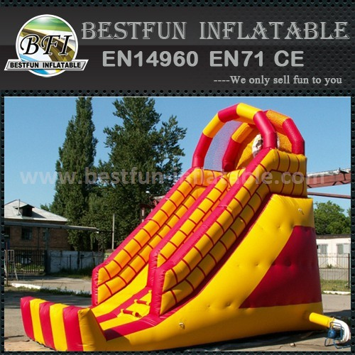 Jumbo inflatable slip and slides