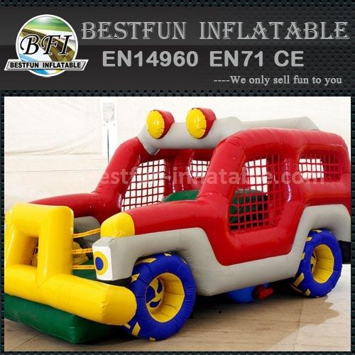Inflatable slides for children