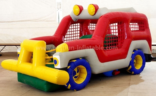 Inflatable bus slide for sale