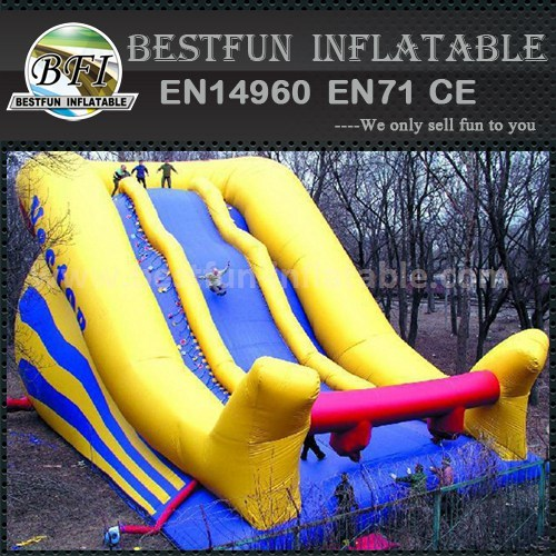 Inflatable giant slide adult