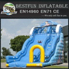 EN 14960 inflatable slide for kids