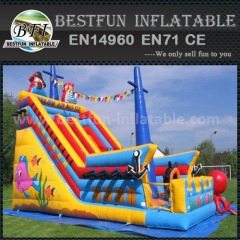 Inflatable crises cross slide
