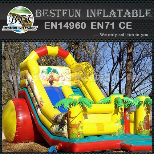 CE approved inflatable slide