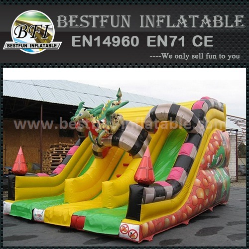 Inflatable slide for party