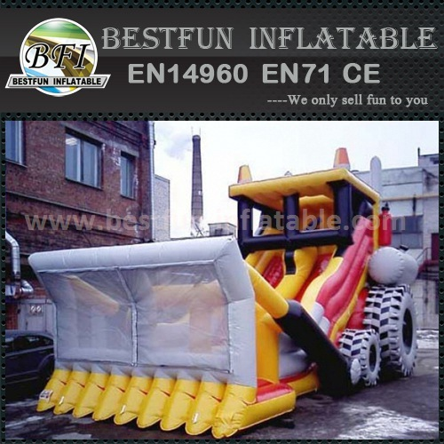 Inflatable dry slide good price