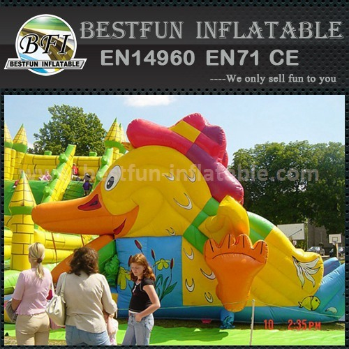 Commercial inflatable kids slide