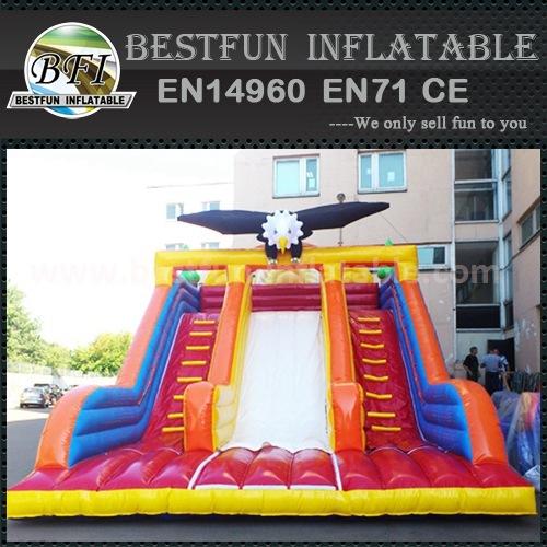 Funny inflatable super slide