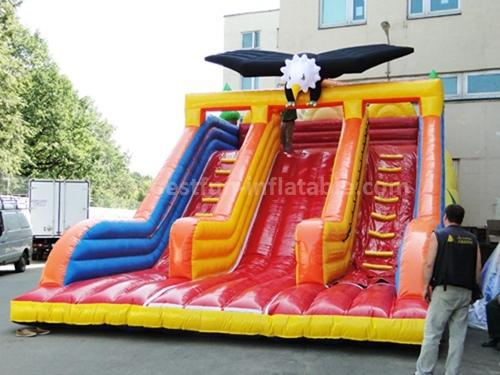Inflatable fancy eagle slide