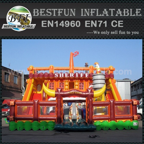 CE certificate inflatable slide