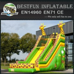 Fantasy inflatable animal slide