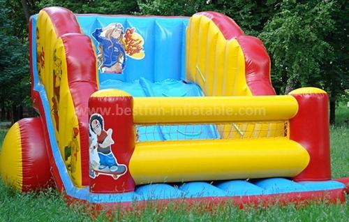 Inflatable outdoor big slide