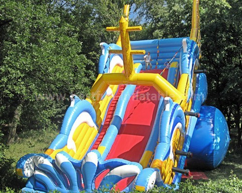 Inflatable slide for boy and girl