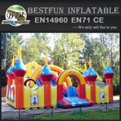 Castles inflatable water slide